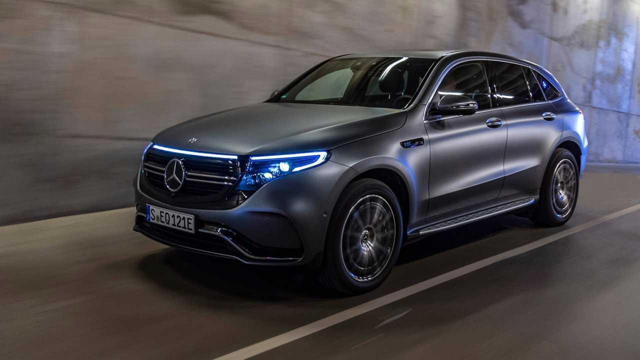 Mercedes EQC (390 km)