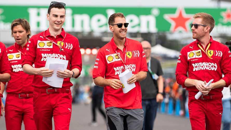 Ferrari F1: Vettel richiamato per l'ordine non rispettato