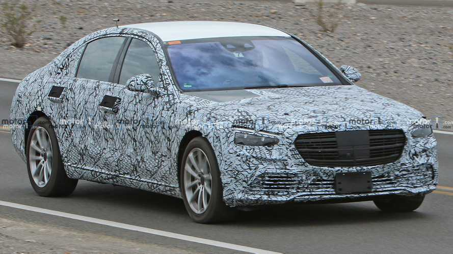 Mercedes-Benz S-Class Spied With Less Camo