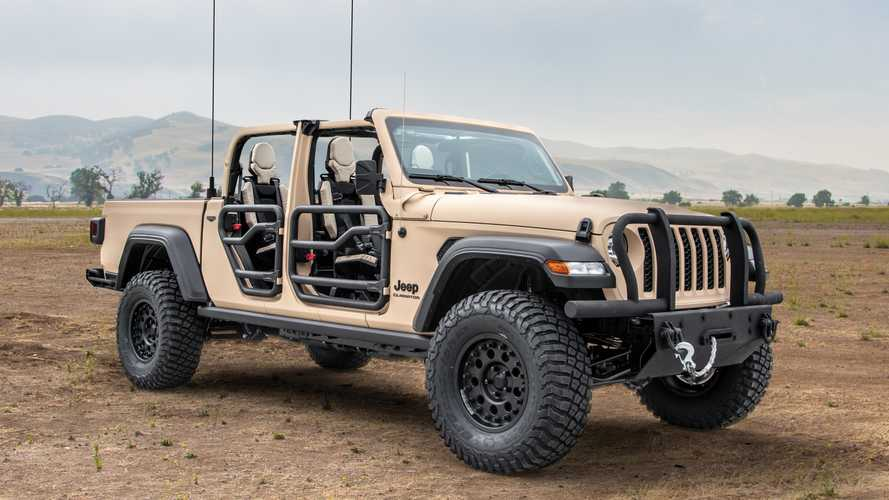 Jeep Gladiator Preps For Battle As Military Concept From AM General