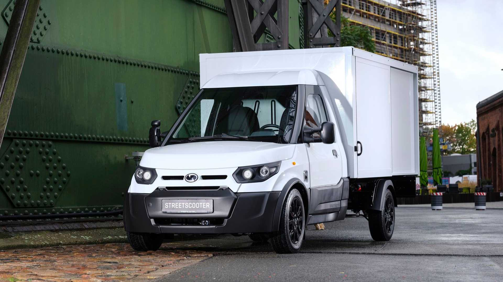new arrival uk store cheapest price StreetScooter Upgrades The Work And Work L Electric Vans