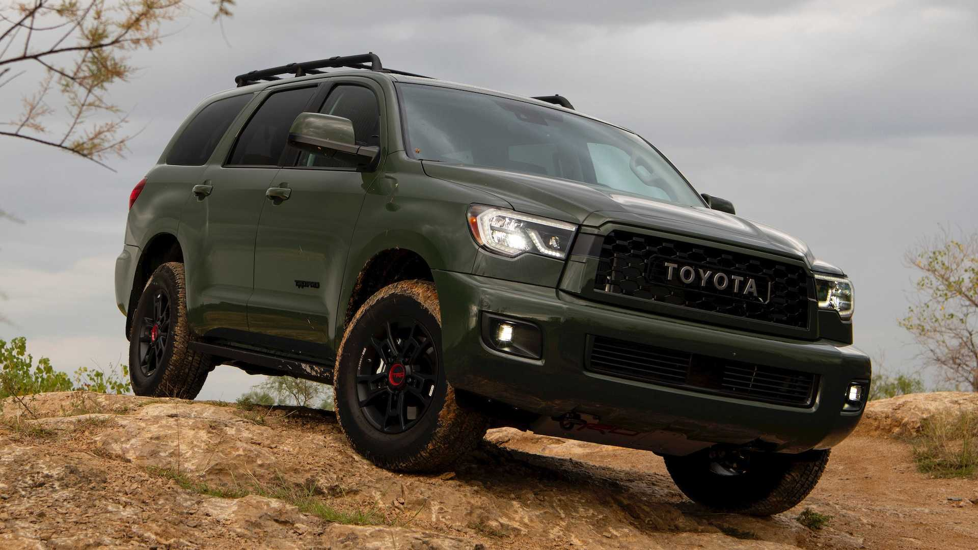 Toyota Tundra Towing Capacity >> 2020 Toyota Sequoia TRD Pro First Drive: Adventure, Party ...