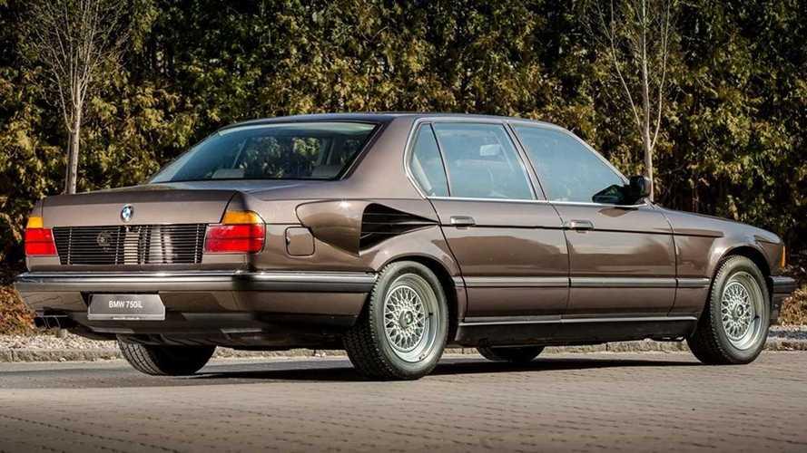 BMW 750iL Goldfish - Avec un V16 de 408 ch !