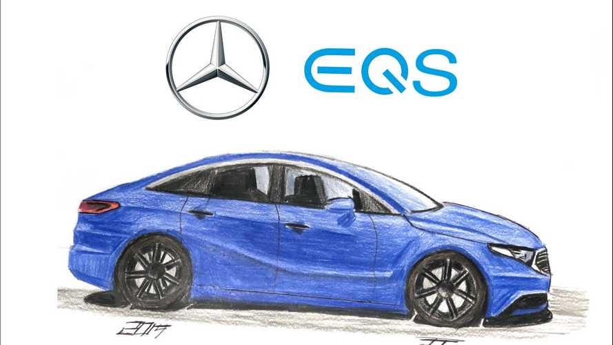 Render Whiz Brings Mercedes-Benz EQS To Life Right Before Your Eyes