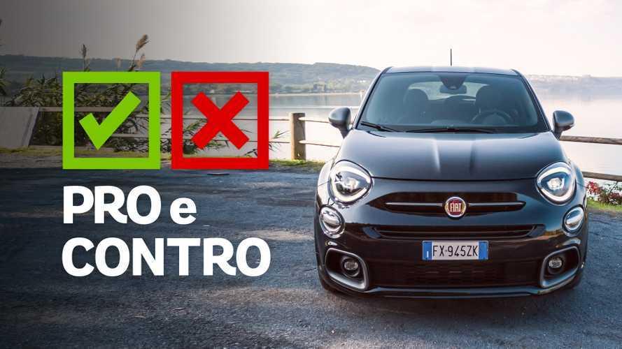 Fiat 500X Sport 1.3 150 CV TCT, pro e contro