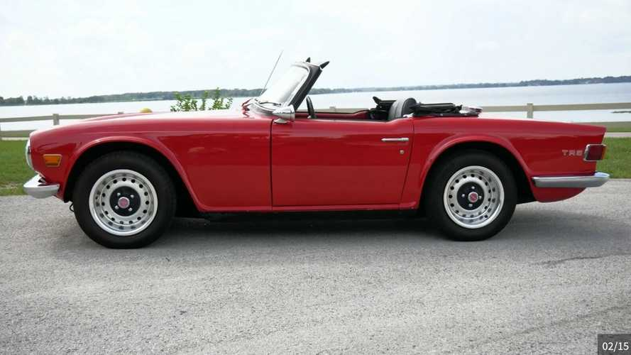 1970 Triumph TR6 Is The British Roadster Done Right
