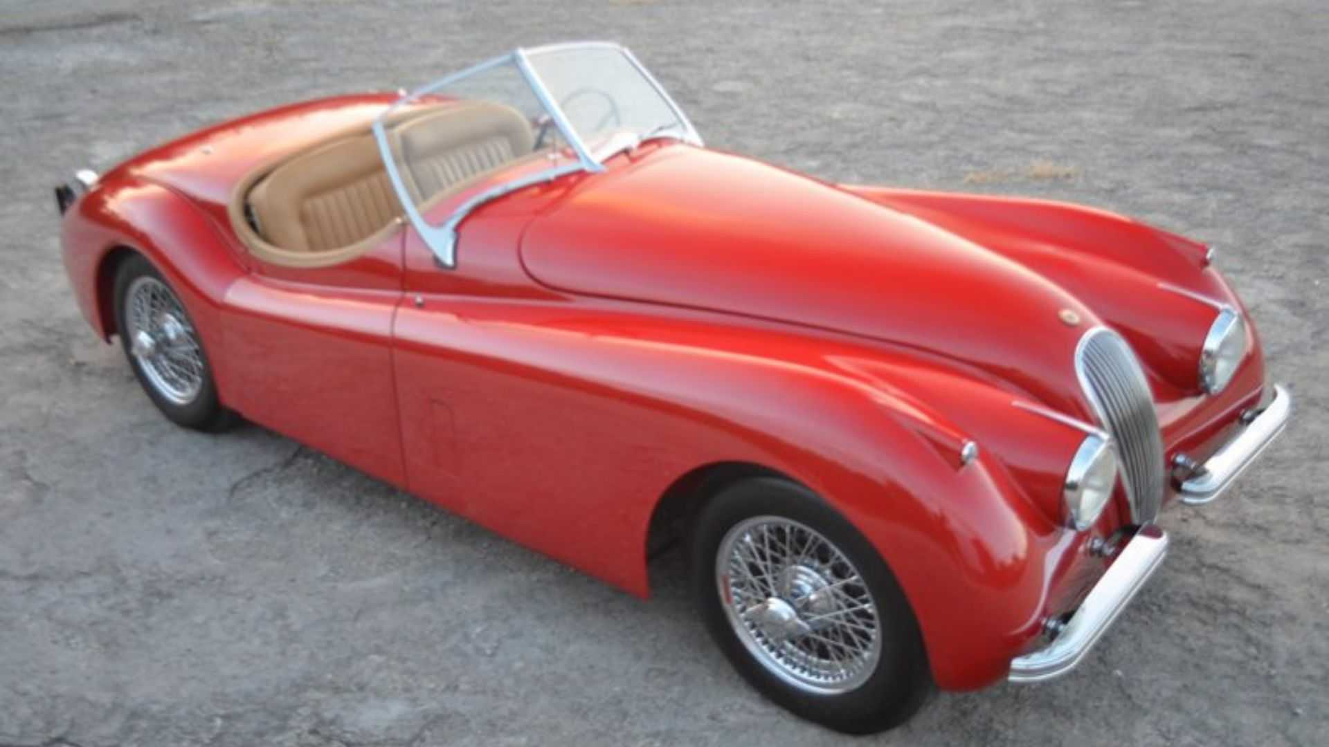"[""Drive This Freshly-Restored 1952 Jaguar XK120""]"