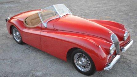 Drive this freshly restored 1952 jaguar xk120