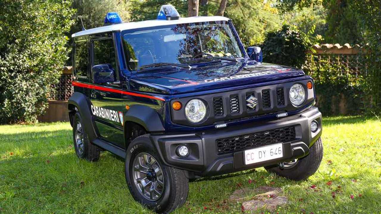 Suzuki Jimny para los Carabinieri en Italia