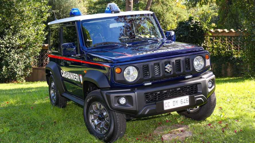 Suzuki Jimny e Ignis para que los Carabinieri defiendan Italia