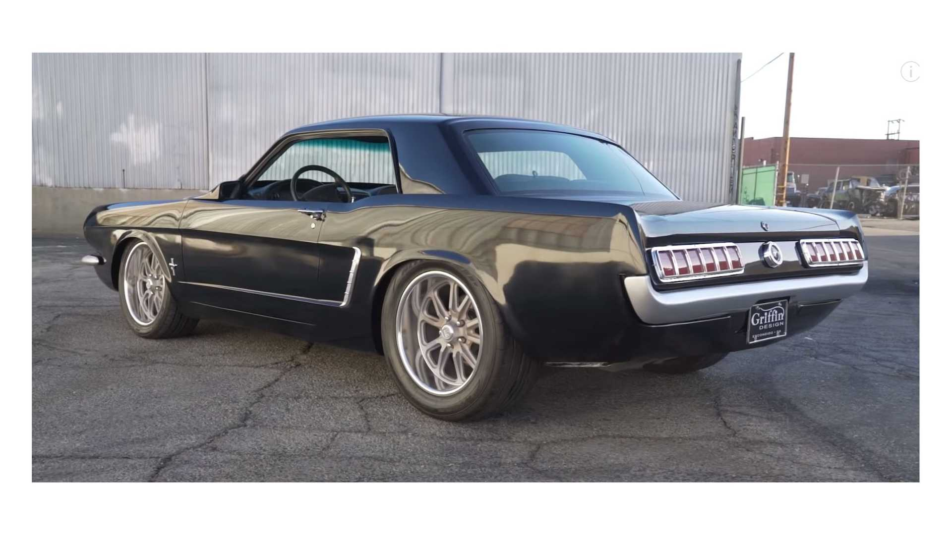 """[""""Modern Mashup 1965 Ford Mustang Wide-Body Heading To SEMA""""]"""