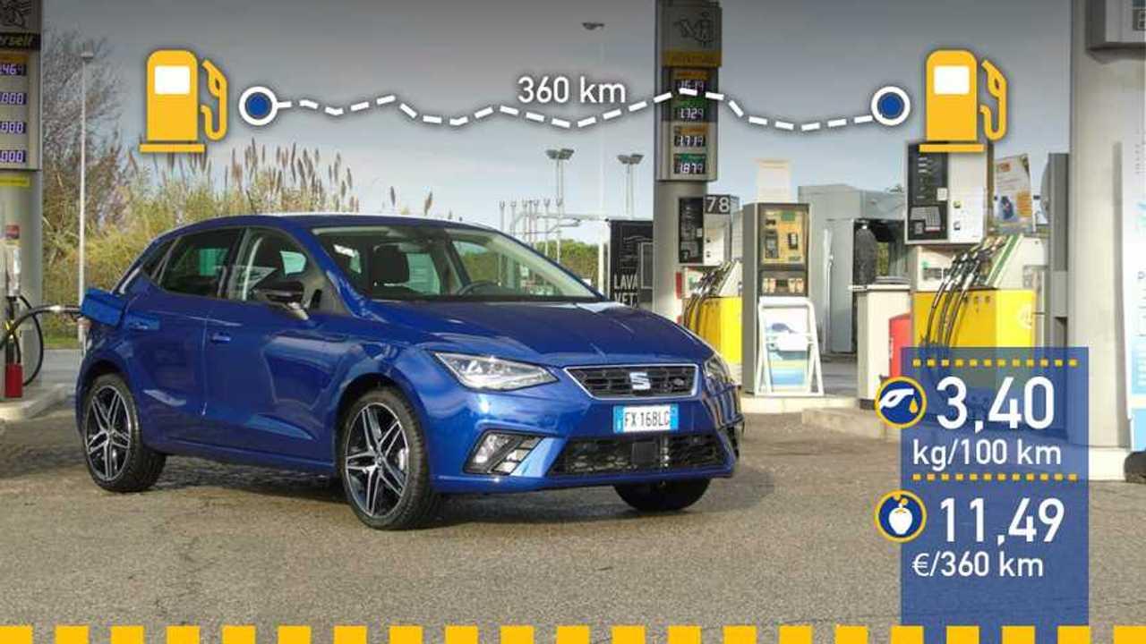 Prueba de consumo real SEAT Ibiza TGI