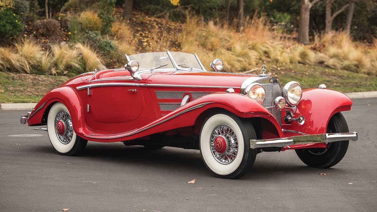 Mercedes 540 K Special Roadster (1937) - 9 миллионов евро