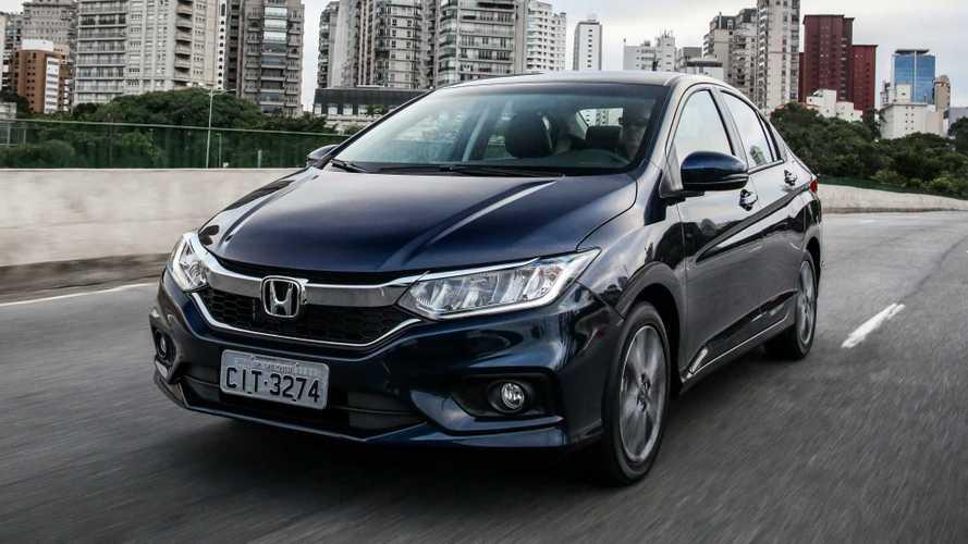 Honda City completa 10 anos de produção no Brasil com 240 mil unidades