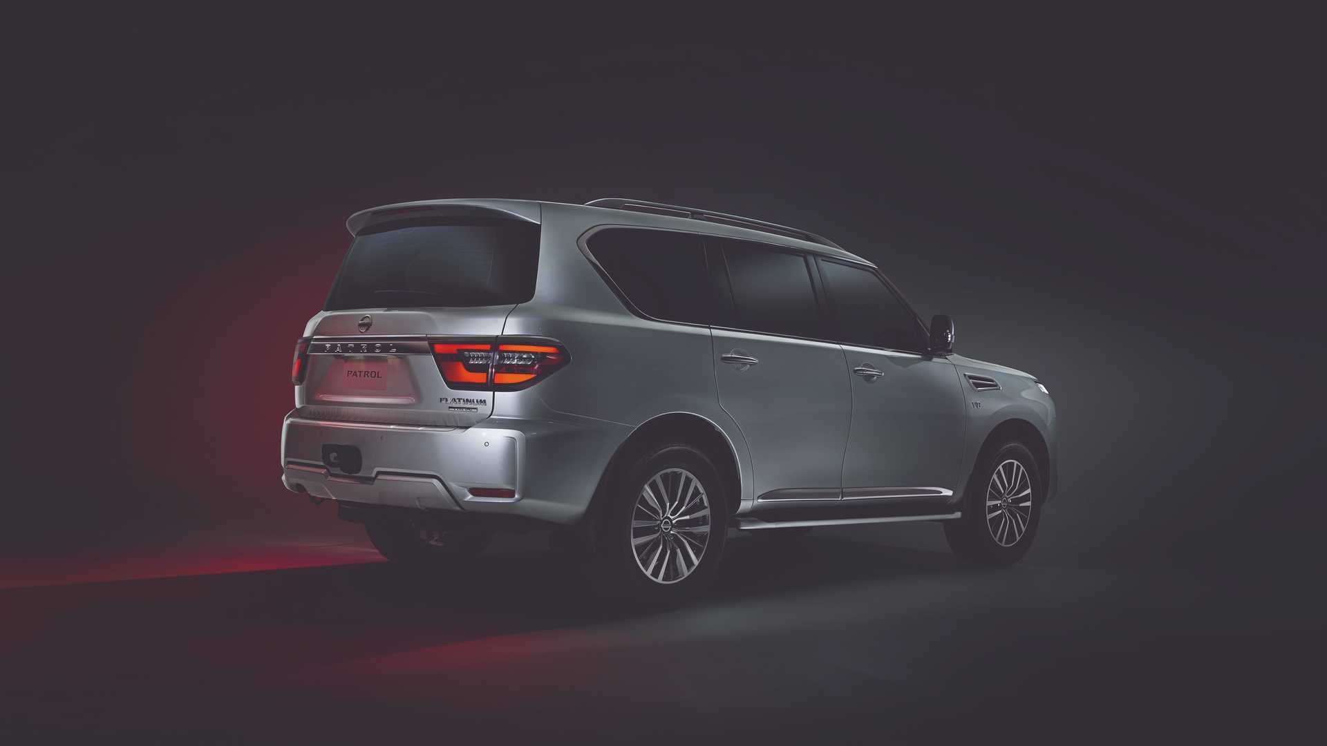 2020 Nissan Patrol Debuts Fresh Look Two Screen Infotainment Display