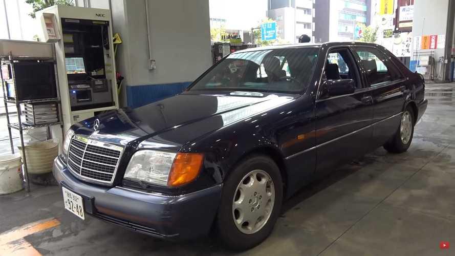 Este Mercedes-Benz S600 suena como un coche de competición