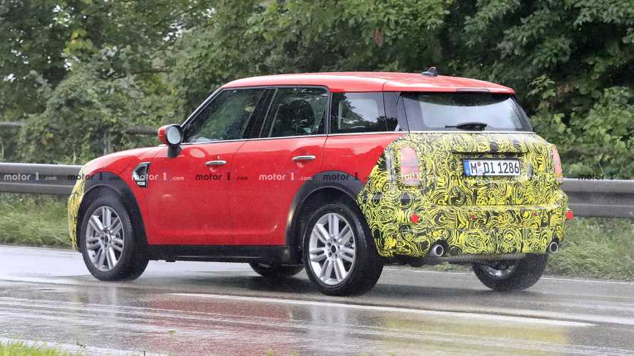 MINI Countryman 2020: fotos espía