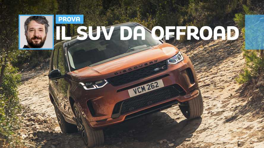 Land Rover Discovery restyling, SUV fuori ma offroad nell'anima