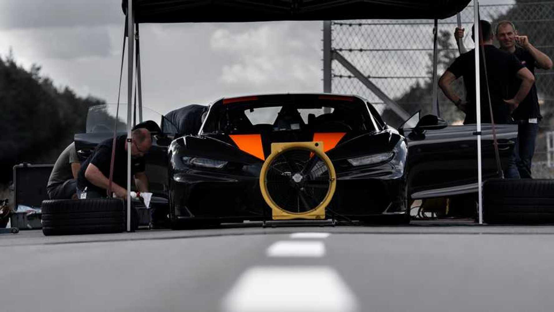 Les records Bugatti, ce n'est peut-être pas fini selon Andy Wallace !
