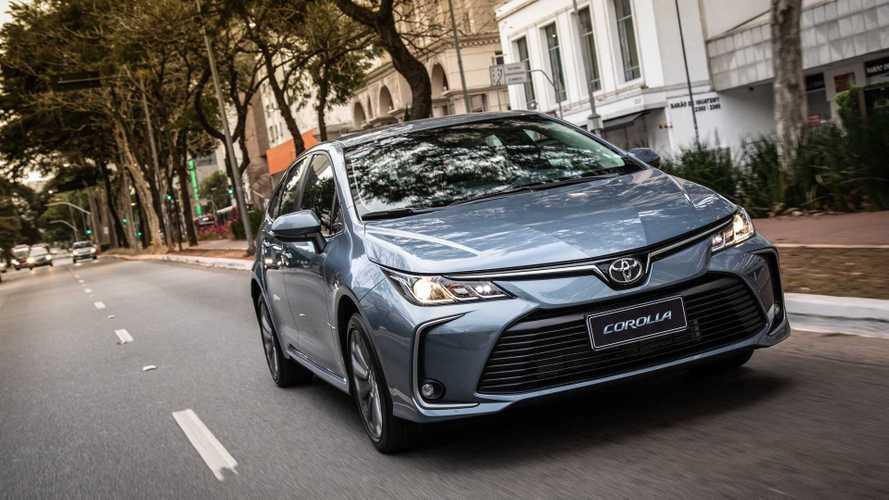 Toyota Corolla fica até R$ 5 mil mais caro e agora parte de R$ 101.990