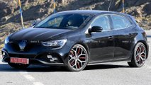 Renault Megane RS Facelift Spy Photos