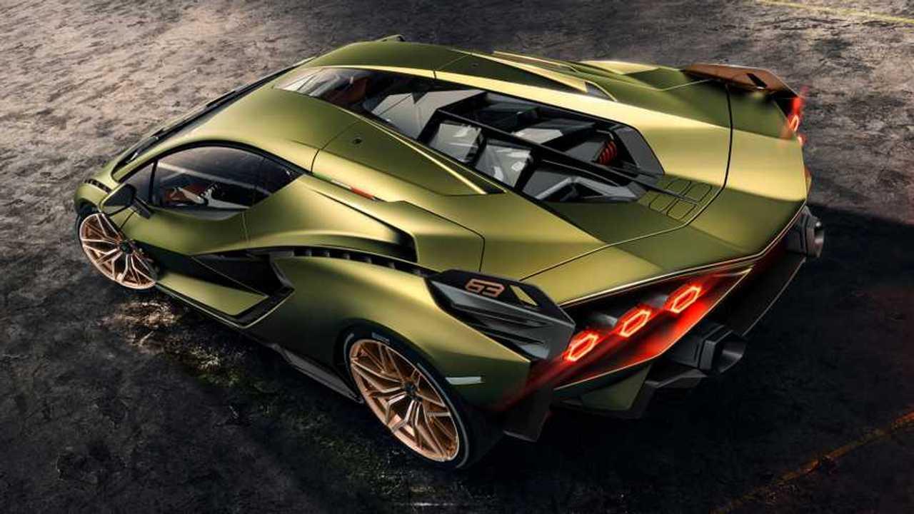 Copertina Lamborghini Sian