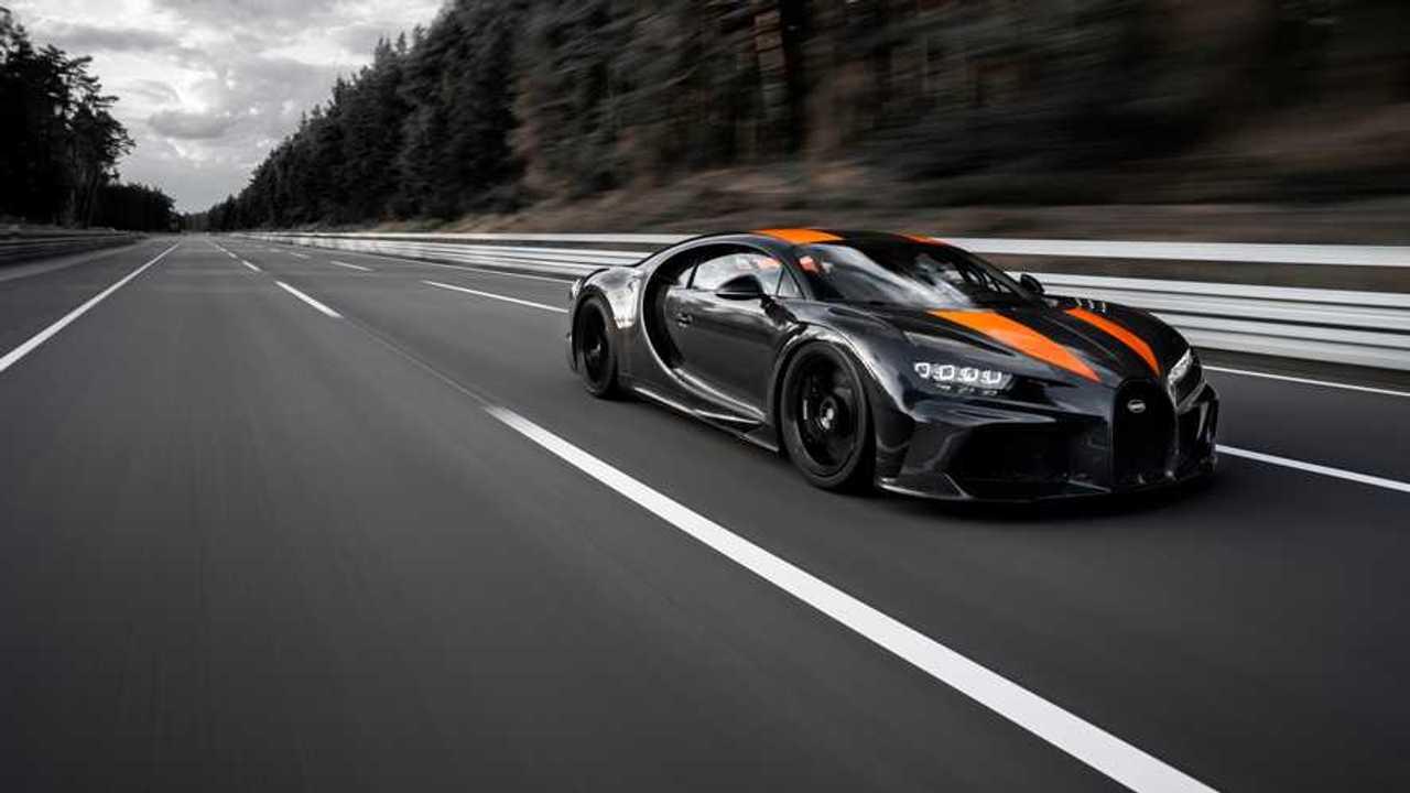 Bugatti Chiron Sport  - Recorde de velocidade