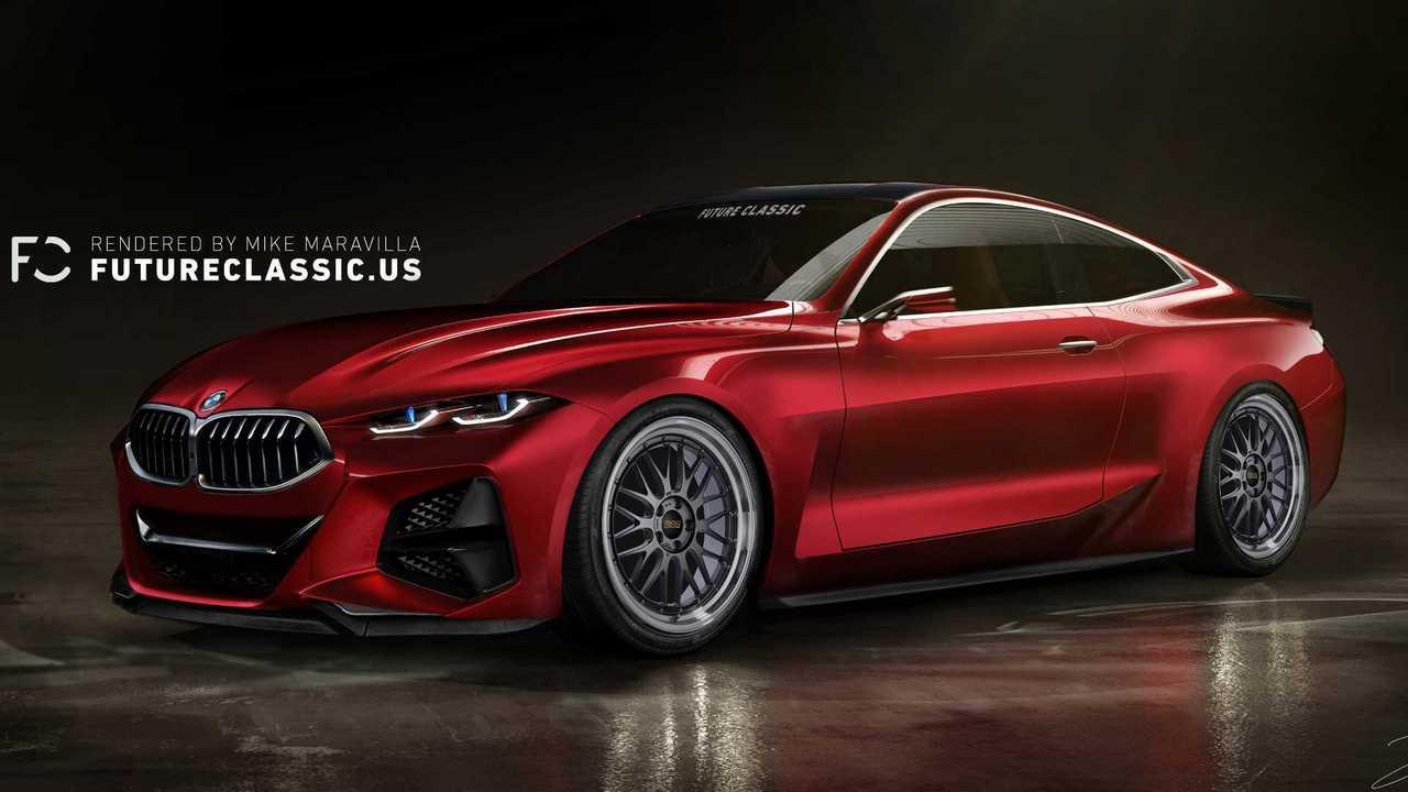 BMW Concept 4 renderelés