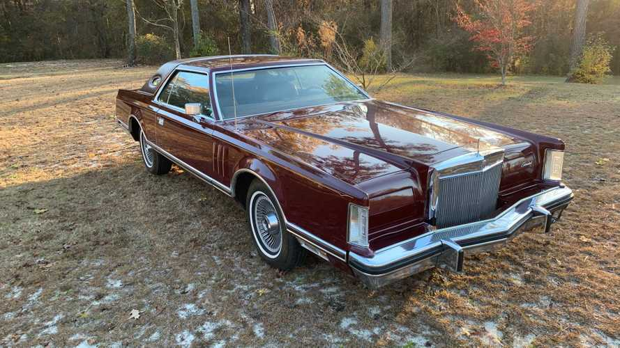 Bid On A 1978 Lincoln Continental Mark V