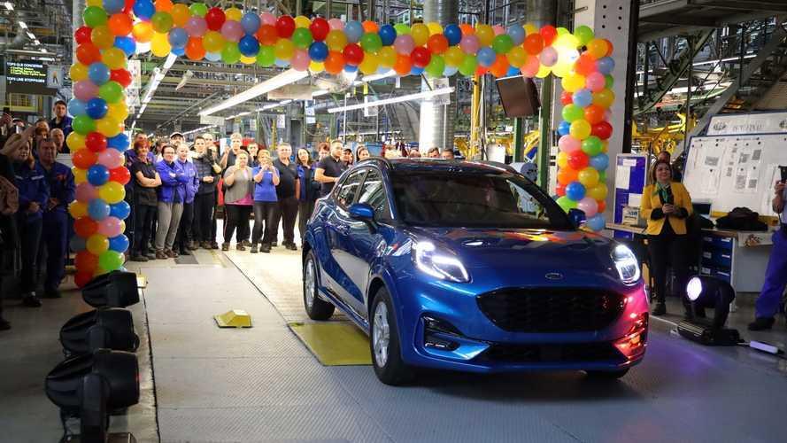 Elkezdődött a Ford Puma gyártása Romániában