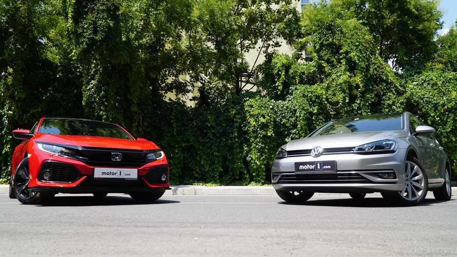 Karşı Karşıya: Honda Civic vs Volkswagen Golf