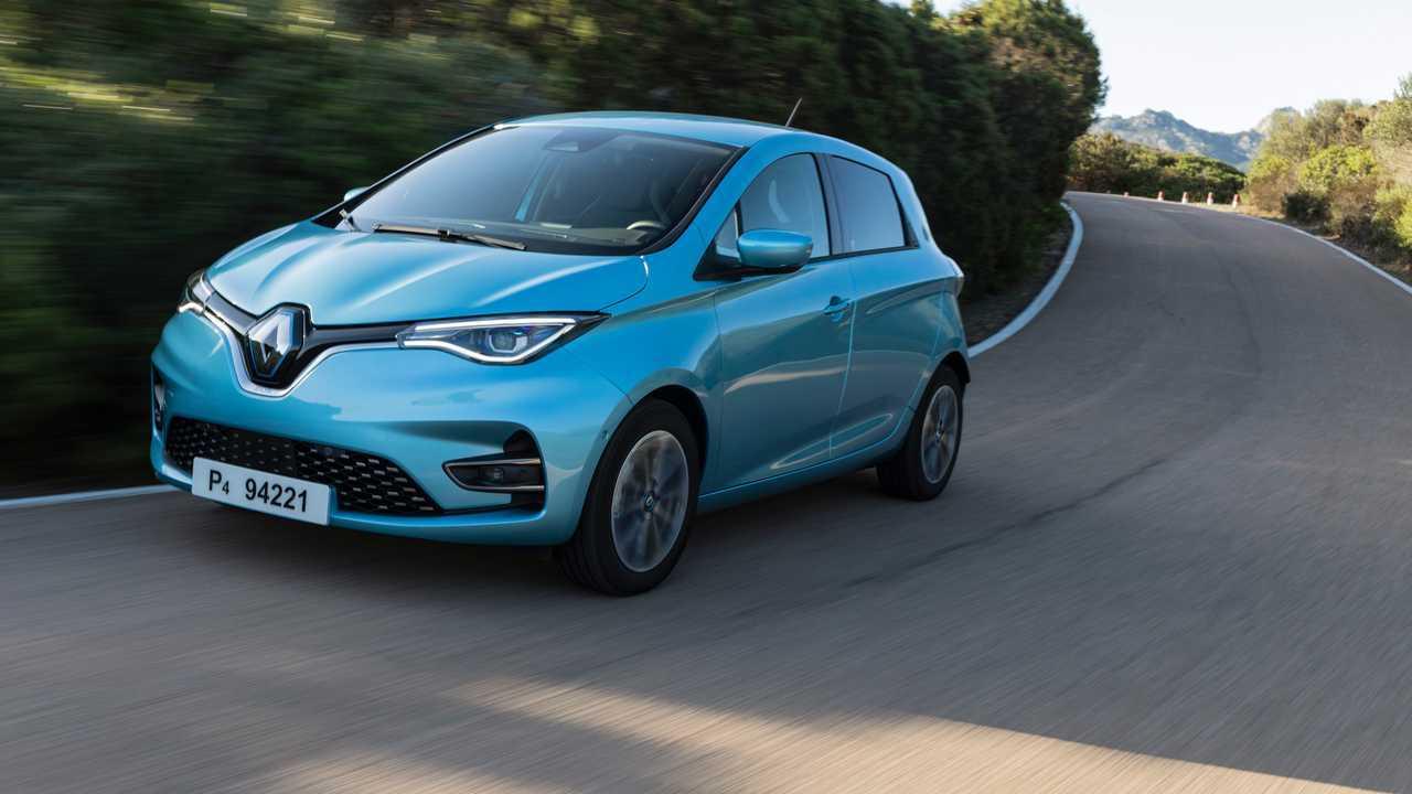 Renault Zoe test (2019)