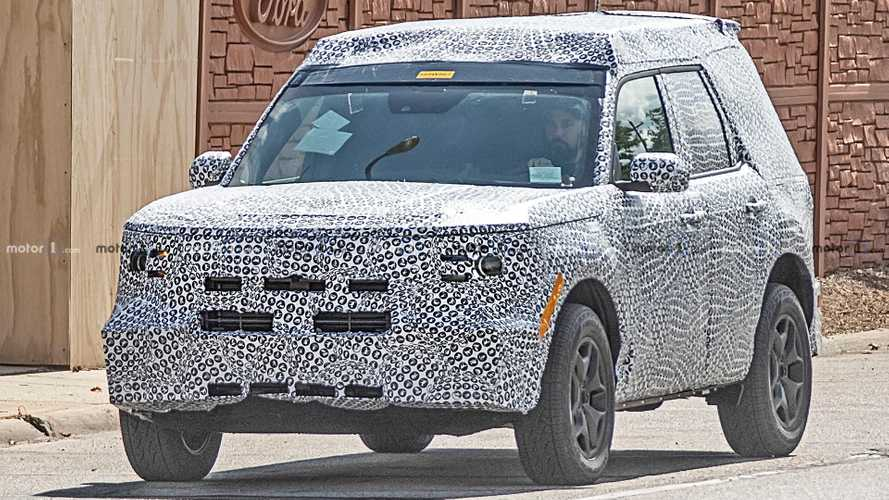 Ford Baby Bronco Spy Shots