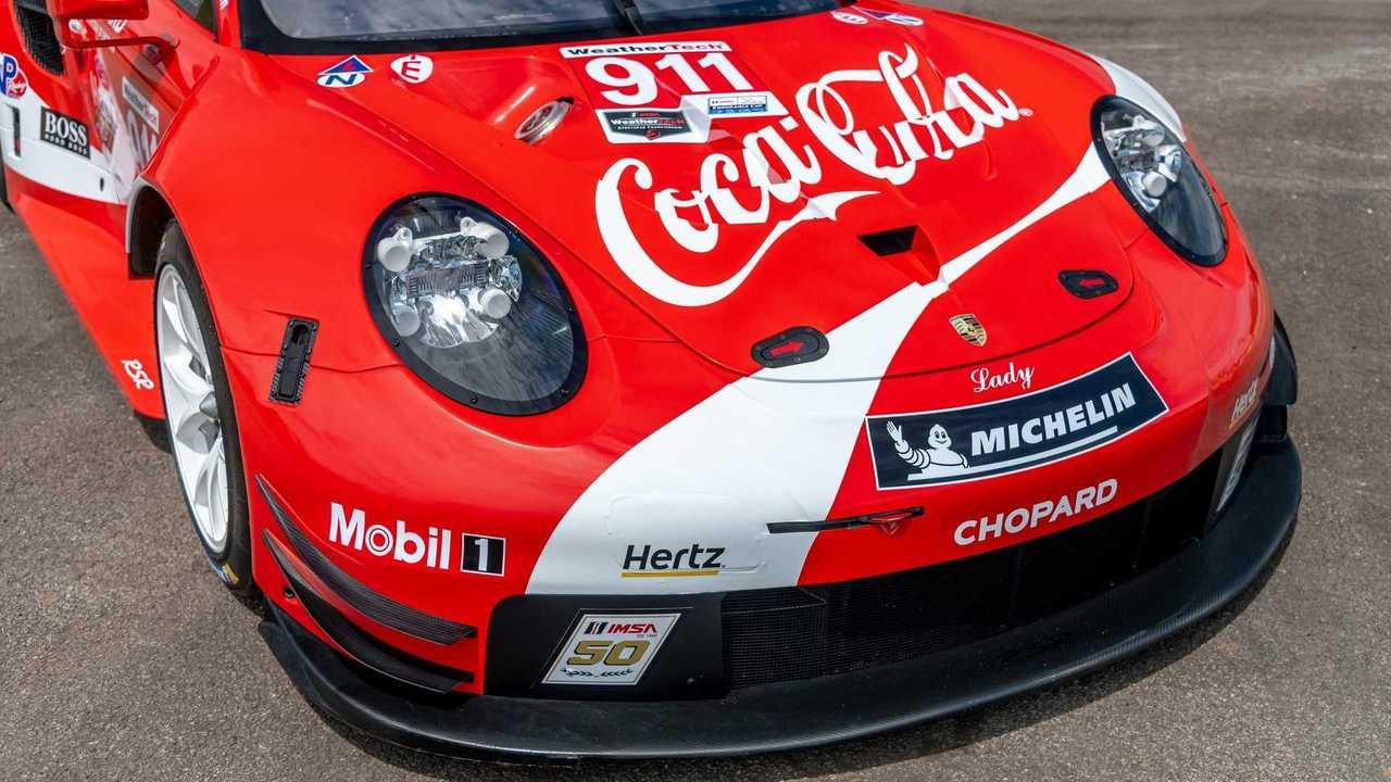 Porsche 911 RSR livery Coca-cola