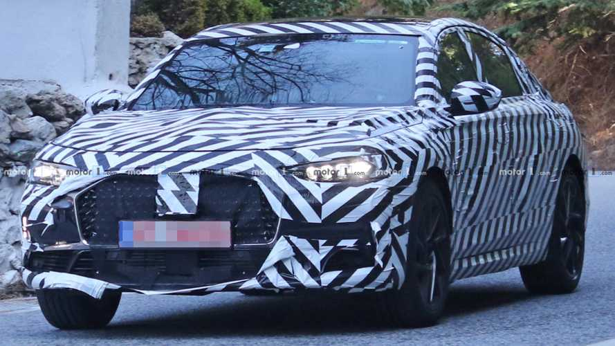 Imposing DS 8  Sedan Spied Testing For The First Time