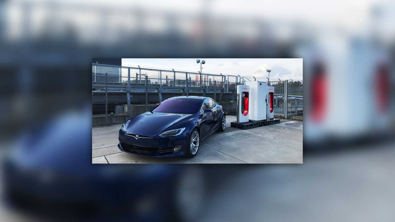 Tesla Installs Supercharger At 'Ring To 'Refuel' Test Cars [UPDATE]
