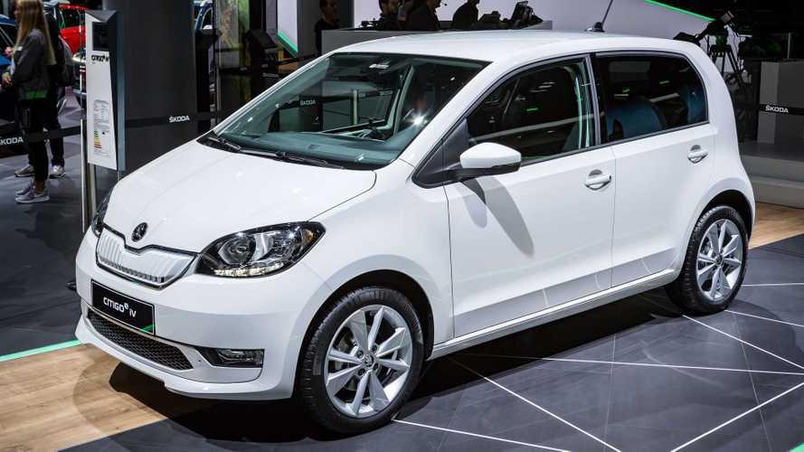 Skoda Citigo e iV/Seat Mii Electric/VW e-Up im Vergleich