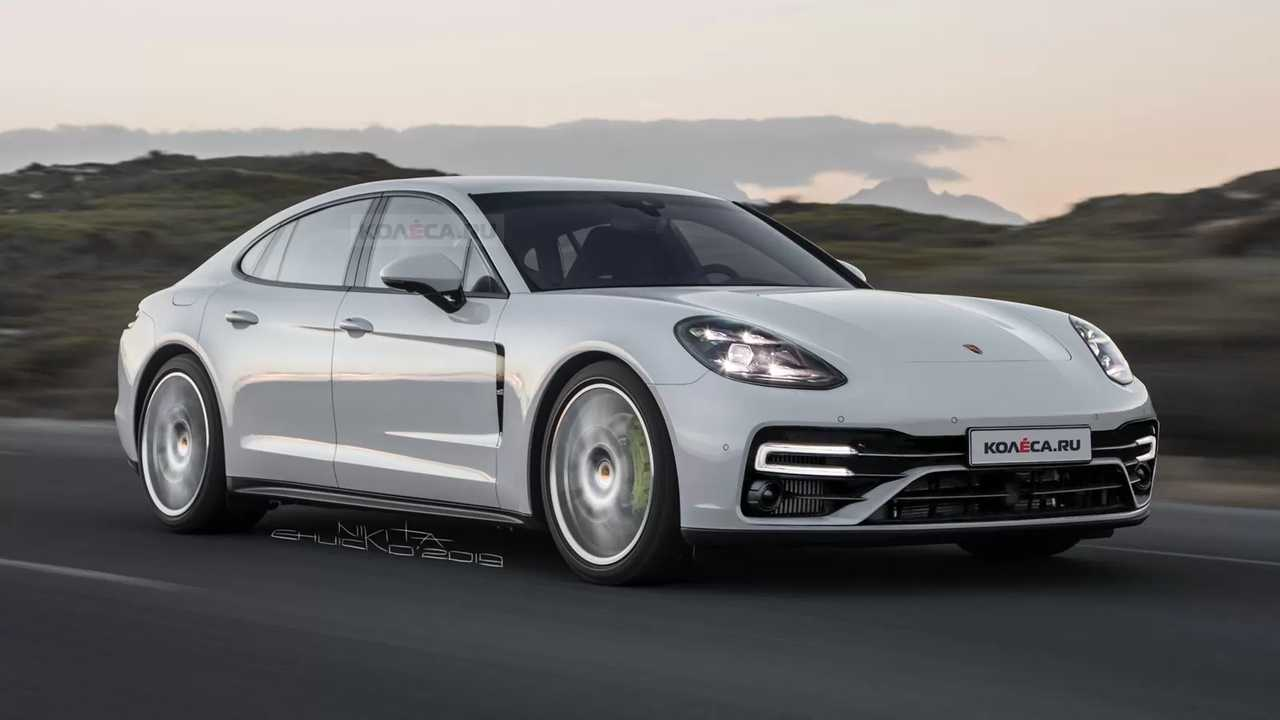 Porsche Panamera Refresh Rendering