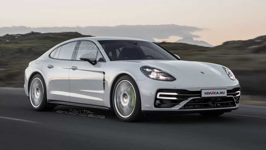 Porsche Panamera Rendering Previews Subtle Facelift