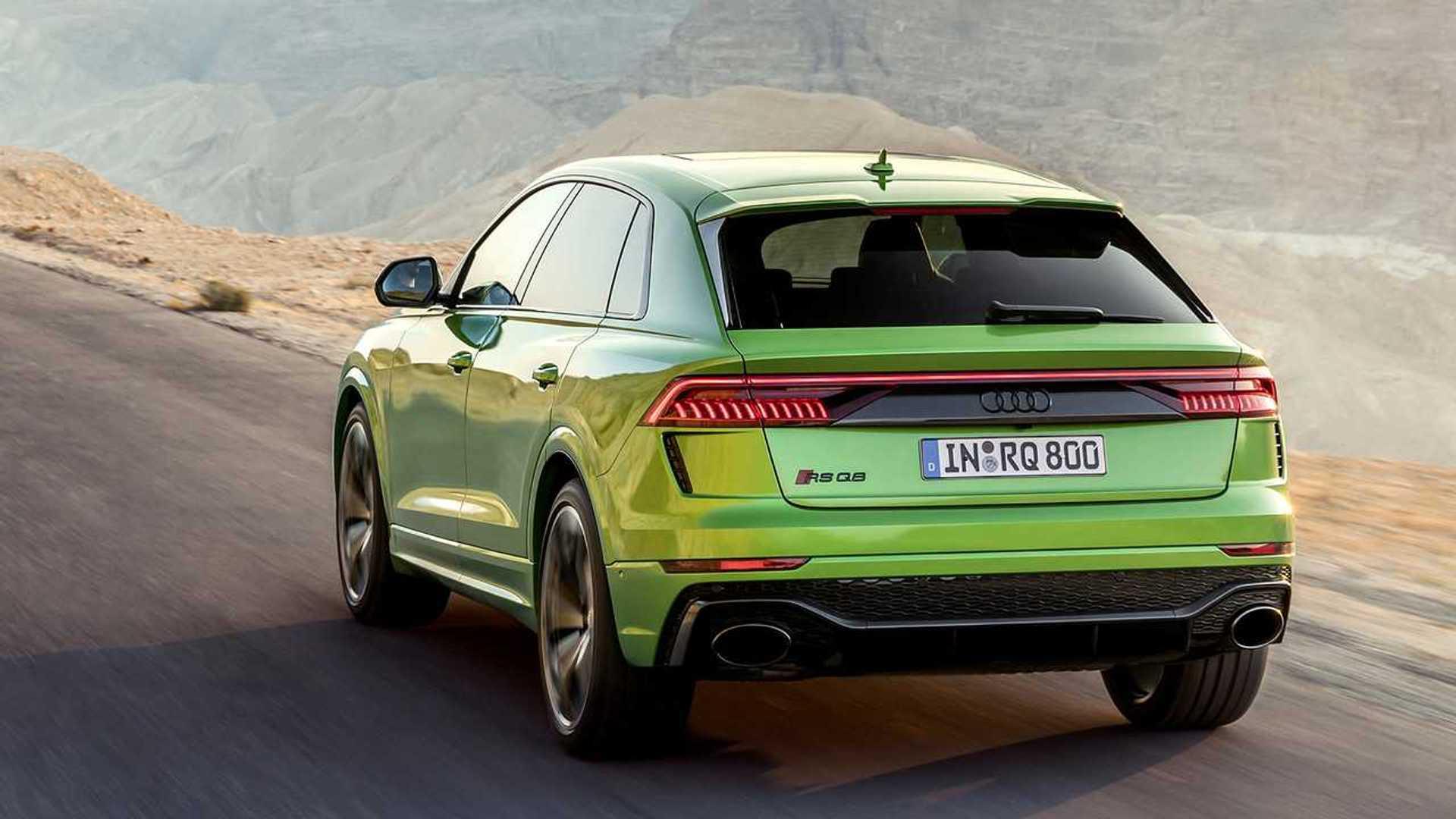2020 Audi Q8 Model