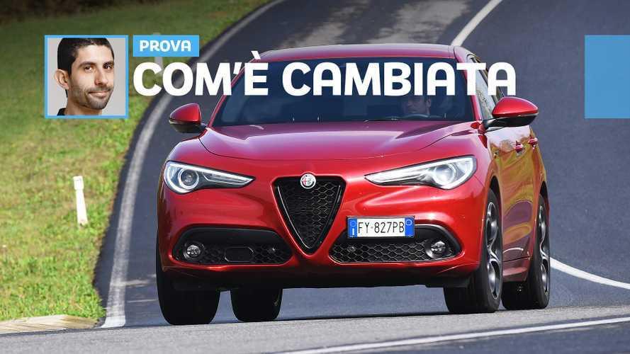 """Alfa Romeo Stelvio MY 2020, ecco come va il """"restyling"""""""
