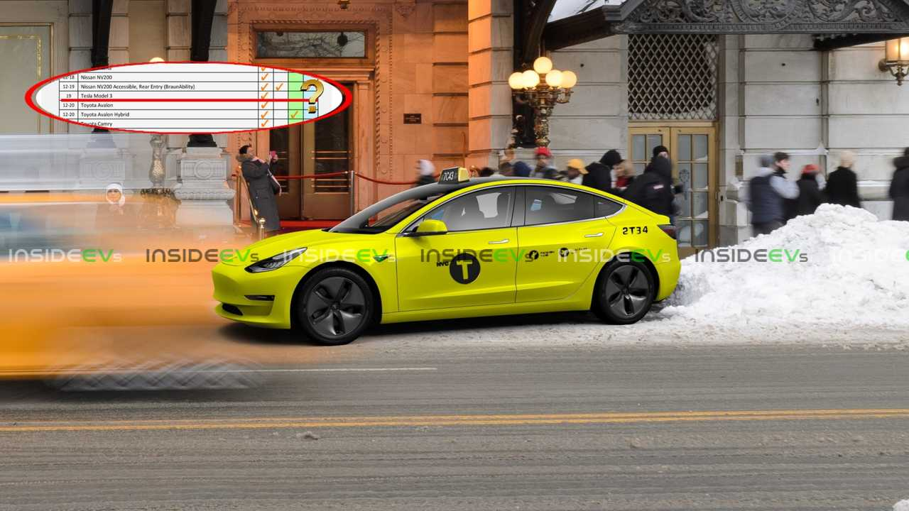 Discover Why The Tesla Model 3 NYC Taxicab Does Not Get The Alt. Fuel Medallion