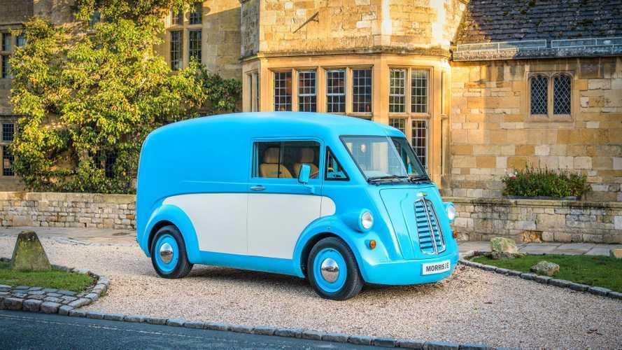 Morris Commercial Introduces Sentimental Electric Morris JE Van