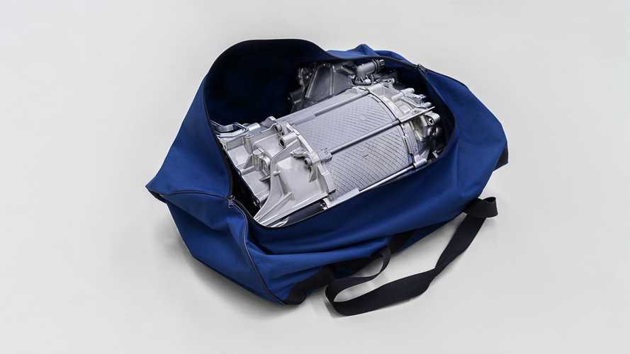 VW ID.3 electric motor is so compact it fits in a sports bag