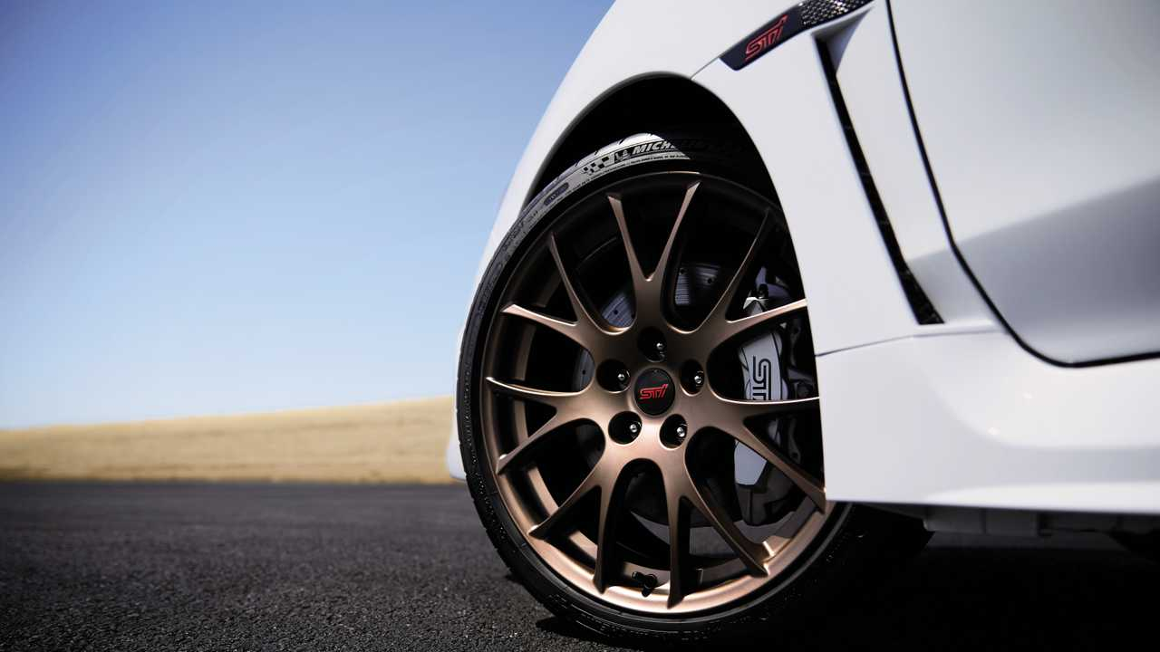 2020 Subaru Series.White WRX STI