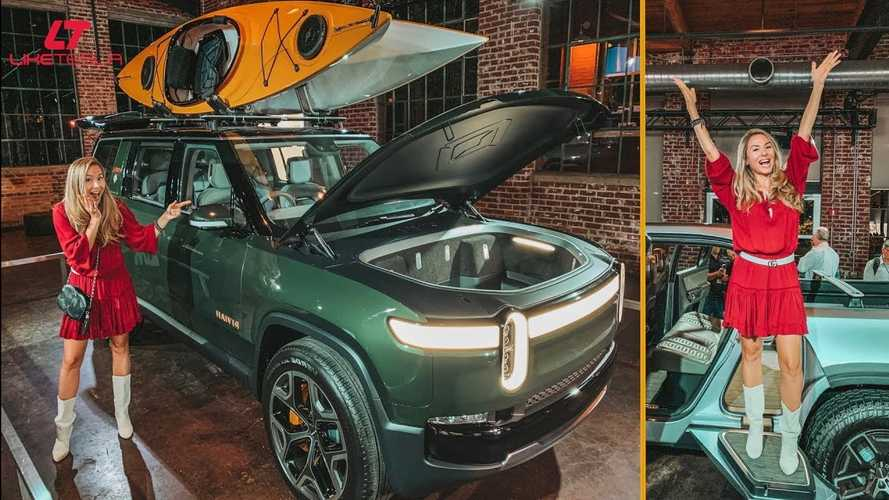 Rivian Exclusive: Up Close With R1T Electric Truck, R1S, RJ Scaringe