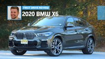 2020 bmw x6 first drive