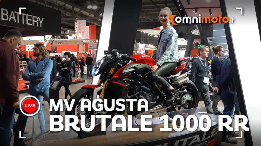 MV Agusta Brutale 1000 RR, ad EICMA 2019 l'anti Ducati Streetifighter