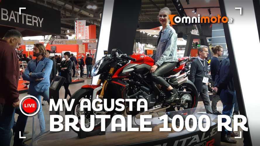MV Agusta Brutale 1000 RR, ad EICMA 2019 l'anti Ducati Streetfighter
