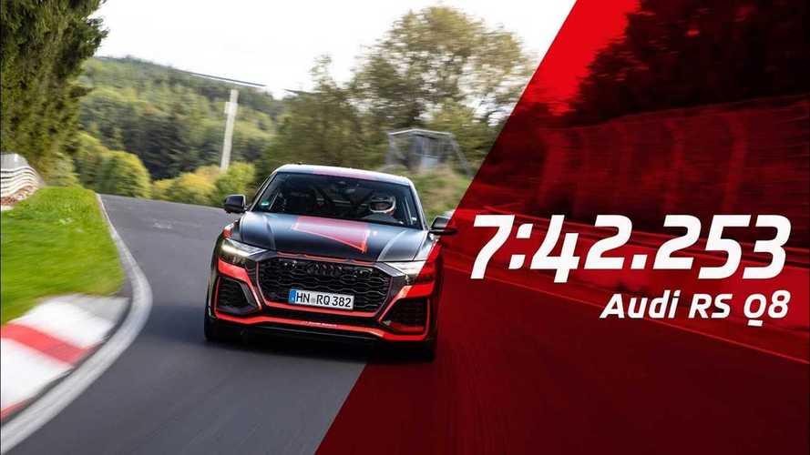 Audi RS Q8, ora è lui il SUV più veloce al Nurburgring
